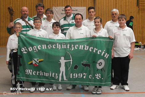 LM in Wolfen am 19.01.2013 - BSV Merkwitz 1997 e.V.