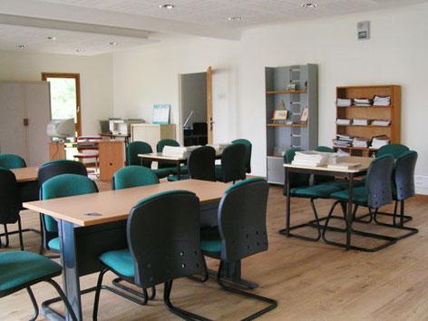 Salle de lecture et de conférences du Centre Jean Rivierre