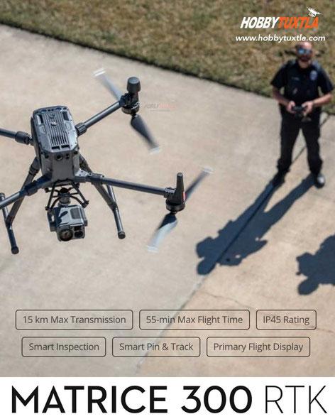 Drones Policías en México para seguridad y vigilancia, búsqueda y rescate de personas