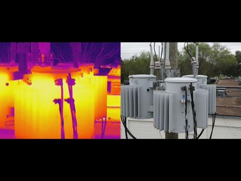 Mavic 2 Enterprise Advanced todo el poder de una cámara térmica para inspecciones de generadores de electricidad
