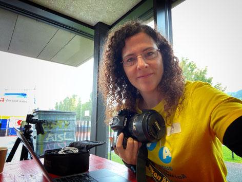 Fotografin und Webmasterin während der Circus-Woche: Angelika Zberg