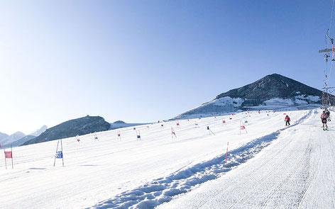 雪上トレーニングイメージ