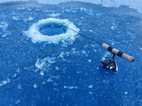 Drill Point Fishing Onlineshop - Startseite Bild Eisfischen - Ice Fishing