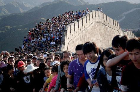 Die Grosse Mauer zur Golden Week im Oktober