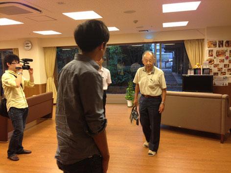 福田さんは、奥様に会いに毎日老人ホームに通っているそうです。