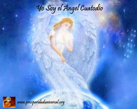 ÁNGELES DE LUZ DIVINA - PROSPERIDAD UNIVERSAL -yo soy el ángel custodio