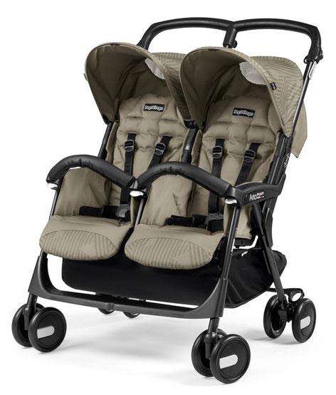 Kinderwagen Zwillingswagen Aria Shopper Twin