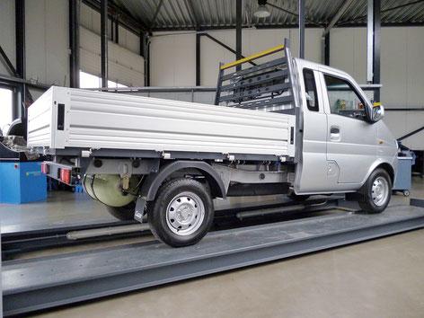 Transporter mit Gasantrieb, Kastenwagen LPG