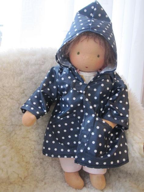 Das Puppenkind für Natalya hat sich kurz vor ihrer Abreise freundlicherweise noch einmal zum Modeln bereiterklärt...