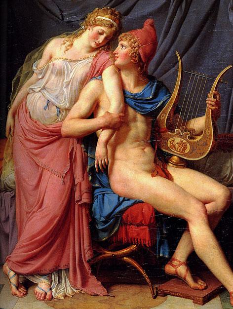 Guerra de Troya; Helena de Esparta; Paris; manzana de la discordia;