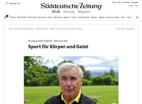 Süddeutsche Zeitung 23.08.2019