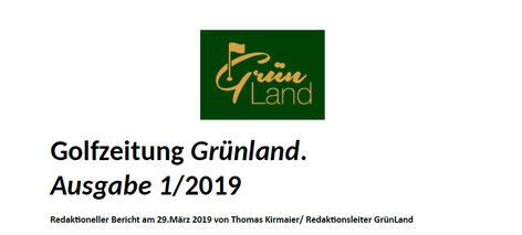 Münchner Merkur Beilage Grün Land 29.03.2019