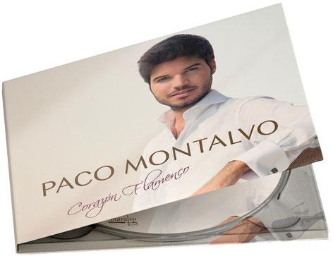 Paco Montalvo, carátula, corazón flamenco, frontal, foto, portada, disco, cd, disck