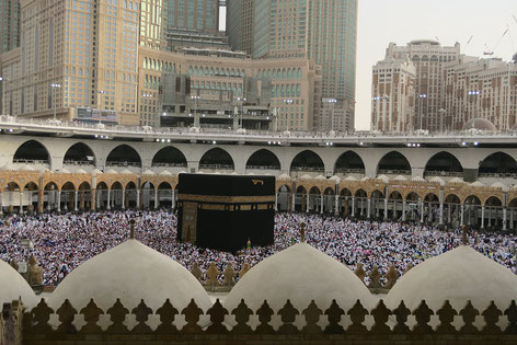 Fotoquelle: https://pixabay.com/de/kaaba-mekka-harem-religion-islam-3338032/