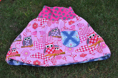 Same skirt- 2. side- owl design