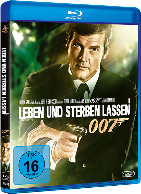 Leben und sterben lassen - Danjaq LLC - Metro-Goldwyn-Mayer Studios - 20th Century Fox Home Entertainment - kulturmaterial