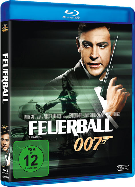 Feuerball - Danjaq LLC - Metro-Goldwyn-Mayer Studios - 20th Century Fox Home Entertainment - kulturmaterial