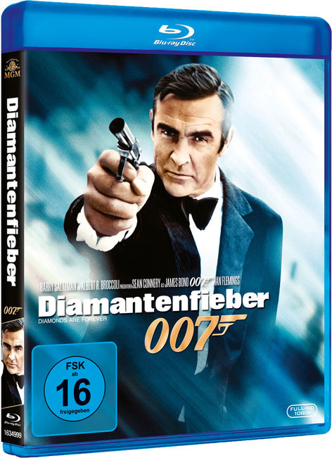 Diamantenfieber - Danjaq LLC - Metro-Goldwyn-Mayer Studios - 20th Century Fox Home Entertainment - kulturmaterial