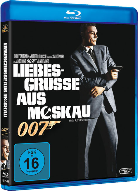 Liebesgrüsse aus Moskau - Danjaq LLC - Metro-Goldwyn-Mayer Studios - 20th Century Fox Home Entertainment - kulturmaterial