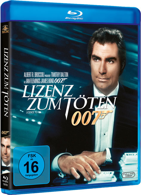 Lizenz zum Töten - Danjaq LLC - Metro-Goldwyn-Mayer Studios - 20th Century Fox Home Entertainment - kulturmaterial