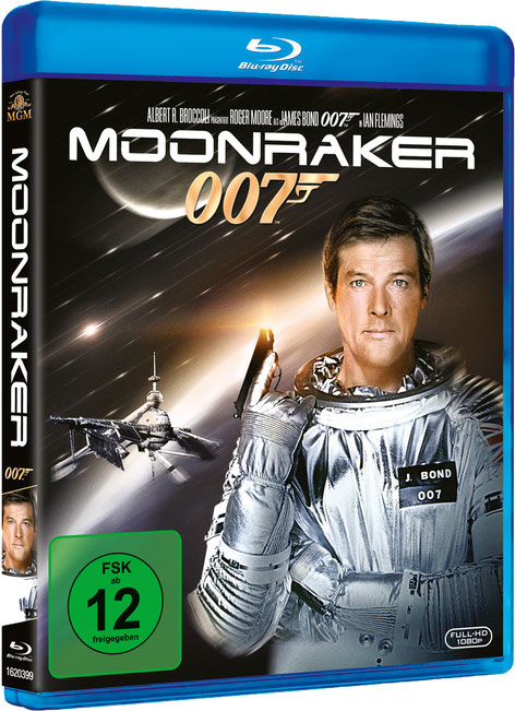 Moonraker - Danjaq LLC - Metro-Goldwyn-Mayer Studios - 20th Century Fox Home Entertainment - kulturmaterial