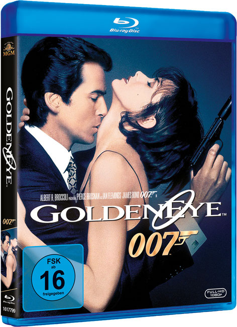 GoldenEye - Danjaq LLC - Metro-Goldwyn-Mayer Studios - 20th Century Fox Home Entertainment - kulturmaterial