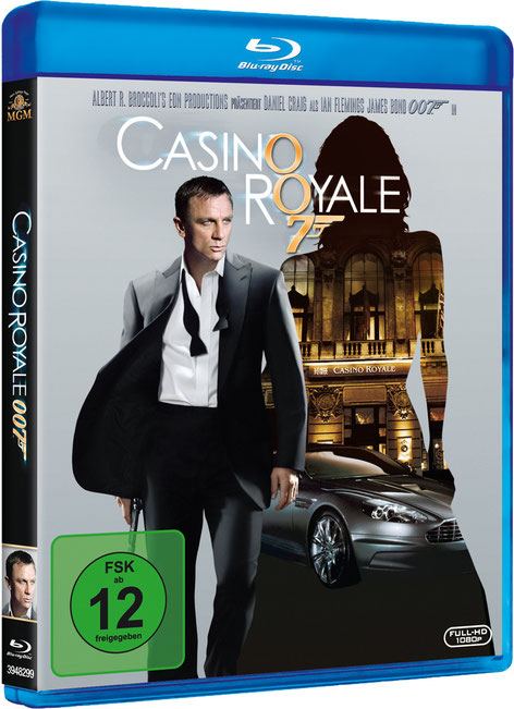 Casino Royale - Danjaq LLC - Metro-Goldwyn-Mayer Studios - 20th Century Fox Home Entertainment - kulturmaterial