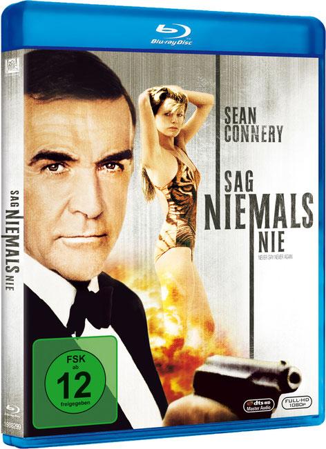 Sag niemals nie - Danjaq LLC - Metro-Goldwyn-Mayer Studios - 20th Century Fox Home Entertainment - kulturmaterial