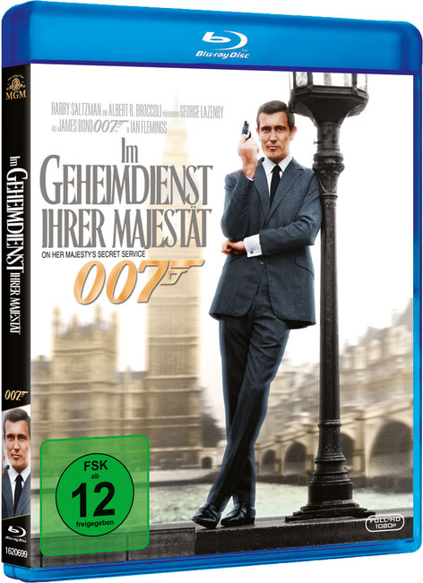 Im Geheimdienst Ihrer Majestät - Danjaq LLC - Metro-Goldwyn-Mayer Studios - 20th Century Fox Home Entertainment - kulturmaterial