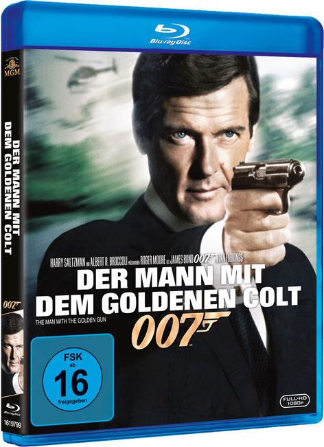 Der Mann mit dem goldenen Colt - Danjaq LLC - Metro-Goldwyn-Mayer Studios - 20th Century Fox Home Entertainment - kulturmaterial