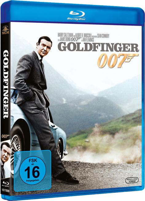 Goldfinger - Danjaq LLC - Metro-Goldwyn-Mayer Studios - 20th Century Fox Home Entertainment - kulturmaterial