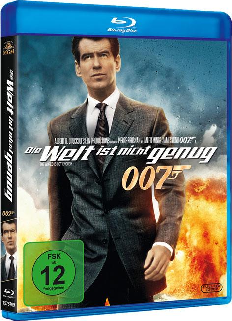 Die Welt ist nicht genug - Danjaq LLC - Metro-Goldwyn-Mayer Studios - 20th Century Fox Home Entertainment - kulturmaterial