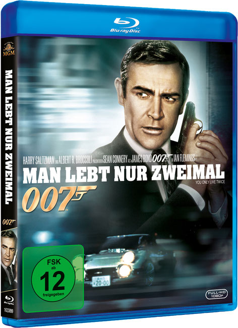 Man lebt nur zweimal - Danjaq LLC - Metro-Goldwyn-Mayer Studios - 20th Century Fox Home Entertainment - kulturmaterial