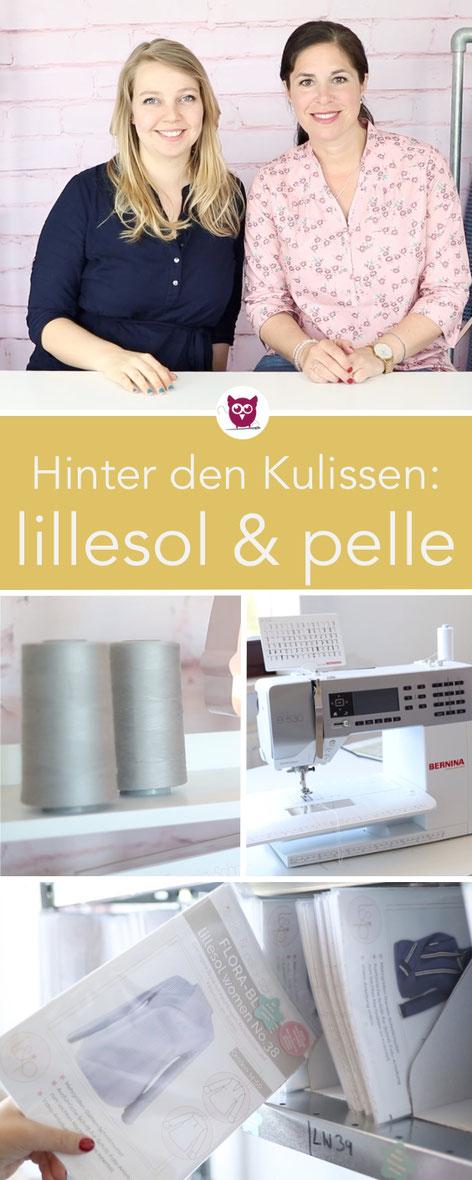[Werbung] Nastja trifft Julia von lillesol & pelle. Ein Blick hinter die Kulissen des Schnittmuster Labels in Hamburg. Video von DIY Eule.