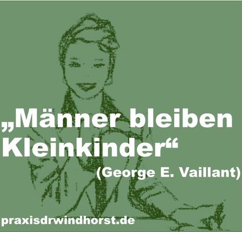 Männer bleiben Kleinkinder. Mehr Psychologie-Themen im Blog von Dr. phil. Ariane Windhorst, Hannover Döhren