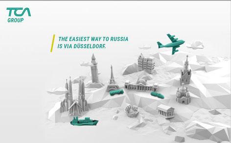 Die neue Webseite von TCA Logistics. Vom Texter aus Düsseldorf.