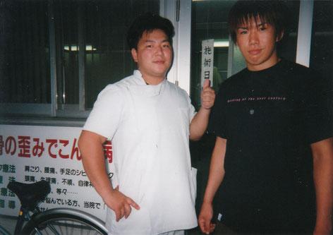 藤田みのる選手と