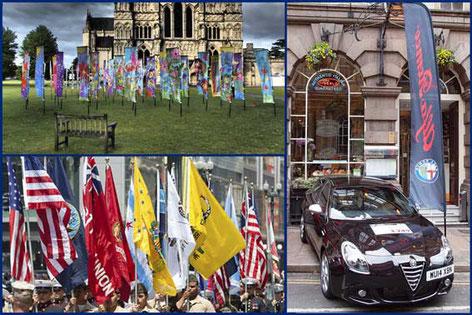 comprar banderas plubicitarias y fly banners