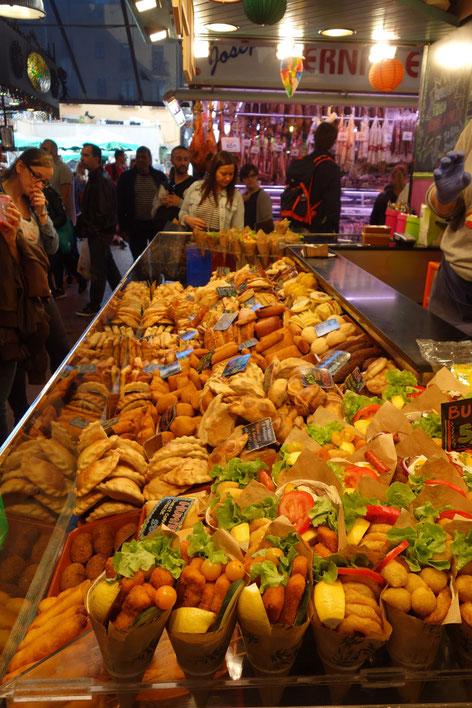 Barcelone market