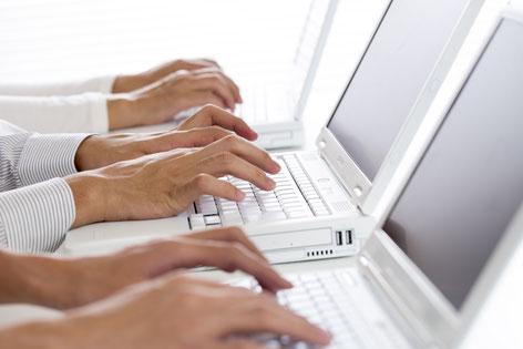 光回線サービスの故障対応業務のイメージ