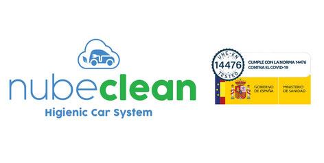 NubeClean higienización del vehículo. Eliminación del coronavirus en el coche por sistema de termonebulización con virucida certificado.do
