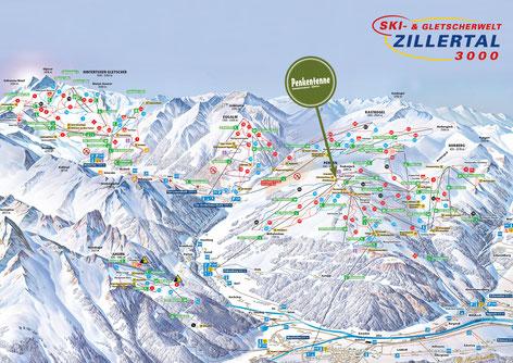 Ski- und Gletscherwelt Zillertal 3000