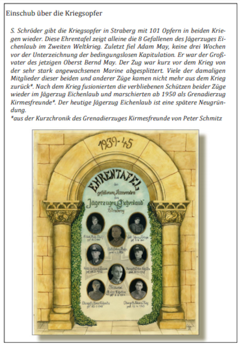 Quelle: Festschrift der Bruderschaft zum 150jährigen Jubiläum 2017