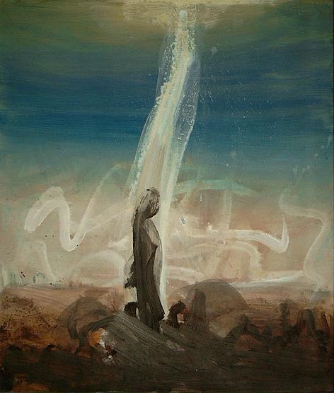 Erde - Acryl auf Leinwand, 1998 (110x95)