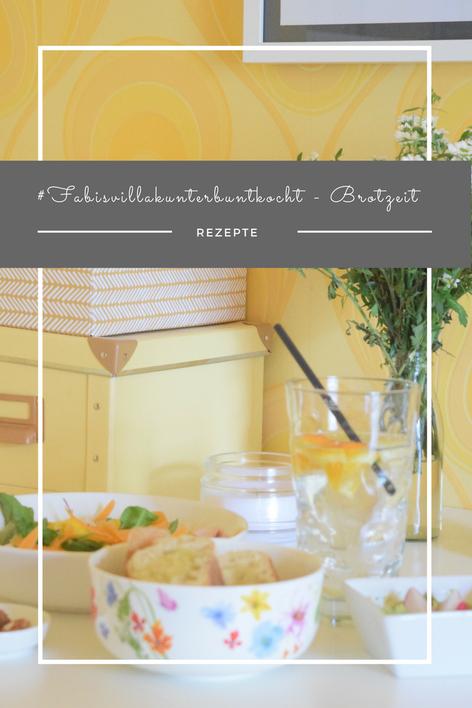 Eine einfache, klassische und umso leckere Brotzeit zum Essen.