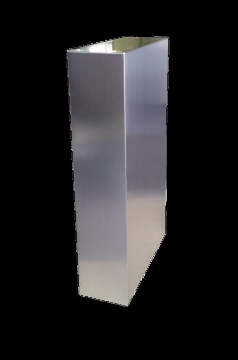 Pata para mesa con 5 lados vistos