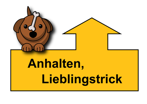 Schild Rally Obedience
