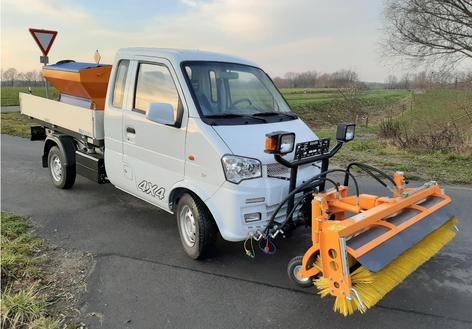 Kleintransporter mit Kippfunktion, Klein-LKW mit Kippfunktion, Kipper