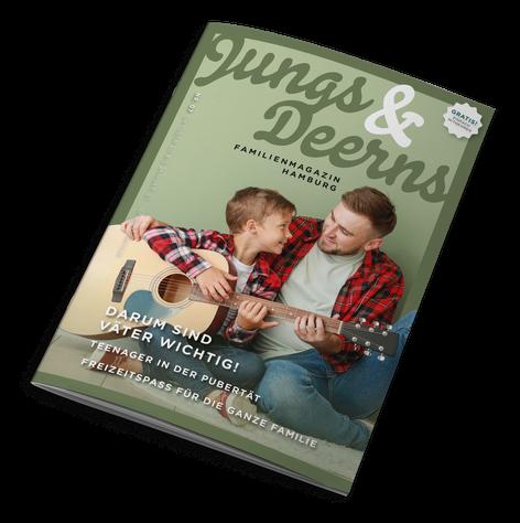 Jungs & Deerns Familienmagazin Hamburg 01-19 zum Download