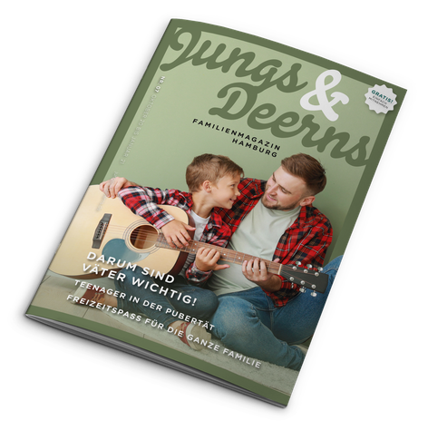 Jungs & Deerns Familienmagazin Hamburg 06-20 zum Download